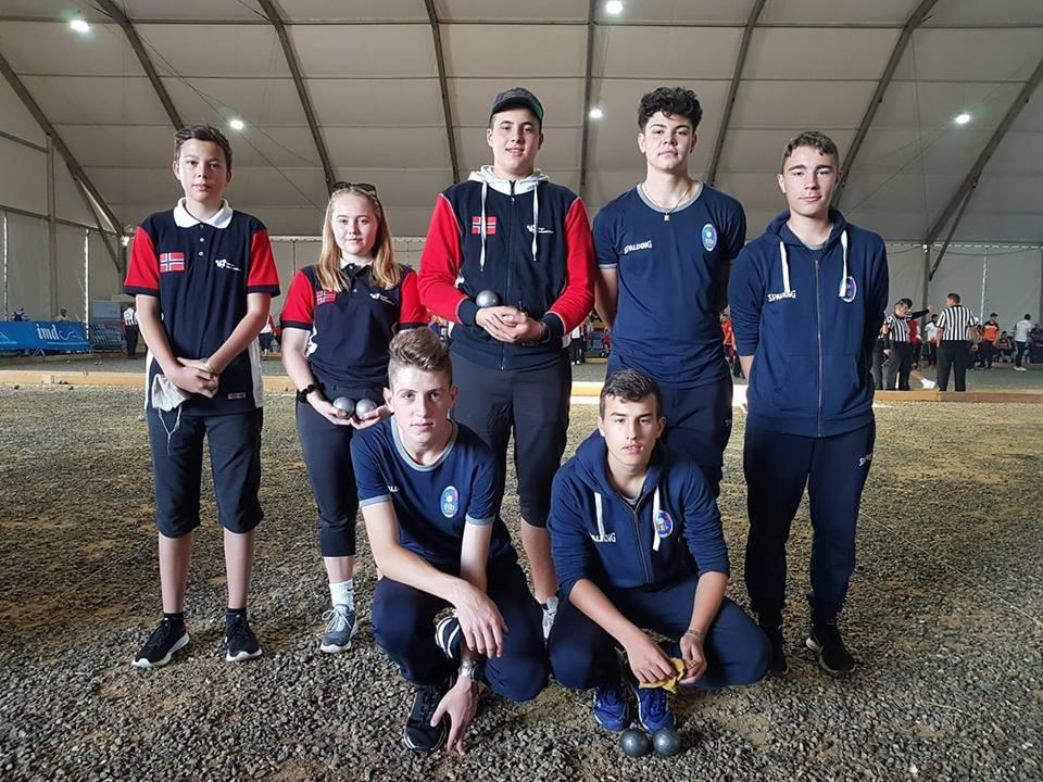 Petanque - Kvartfinale og sølvmedalje for Norges yngste ccfc7932351a7